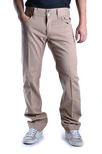 Dolce E Gabbana Pantaloni Uomo MCBI099341O Cotone Beige