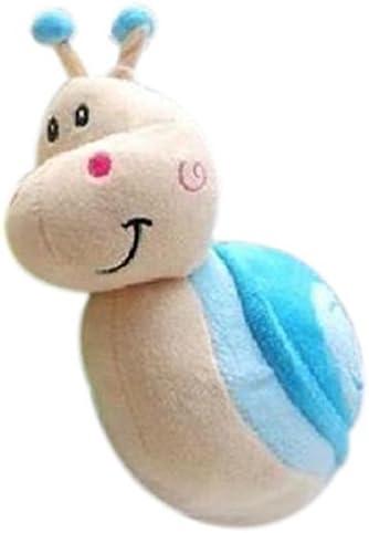 Petite poupee en peluche petit escargot petit mariage poupee petite poupee petit cadeau bleu SODIAL R