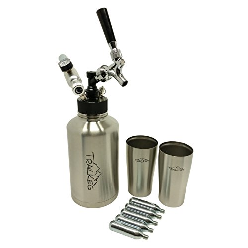 Trail Keg Stainless Bottle Premium Package with Chrome Tap by Strange Brew (Image #1)
