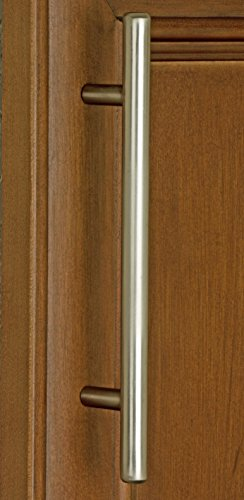 GlideRite Hardware 4074-L-SN-25 7.625 inch CC Satin Nickel Solid bar Series Cabinet Pull 25 Pack by GlideRite Hardware (Image #1)