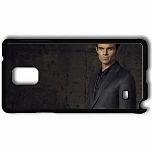 Personalized Samsung Note 4 Cell phone Case/Cover Skin Actor Diaries Vampire Series Elijah Daniel Black by lolosakes