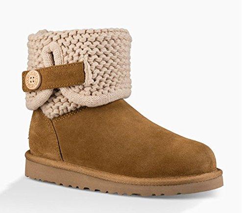UGG Kids Girl's Darrah (Big Kid) Chestnut Boot 5 Big Kid - 5 Boots Size Youth Ugg