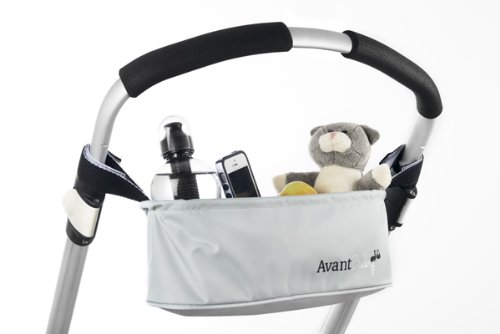 Avant Baby Universal Pram Buggy Stroller Organiser for mobile phone, bottle / coffee holder, keys and more.