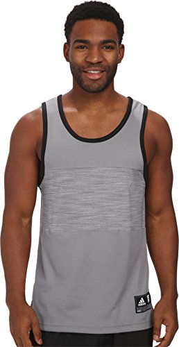 Adidas Mens Team Speed Tank Grijs
