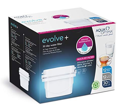 Aqua Optima Evolve+ waterfilterpatroon, wit, eenheidsmaat