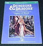 img - for Legacy of Blood (Dungeons and Dragons Module CM9) book / textbook / text book