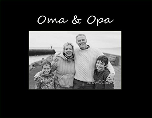 Havoc Gifts G-3041SB German Oma and Opa Engraved Frame, Small, (Havoc Gifts)