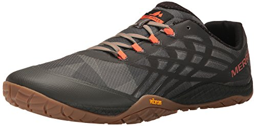(Merrell Men's Trail Glove 4 Runner, Vertical, 11 M US)