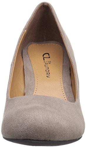 CL by Chinese Laundry Women's Nima Wedge Pump Dark Taupe Super Suede MDirPNtIZL
