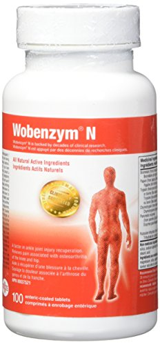 Wobenzym N e-Tabs, 100 Count