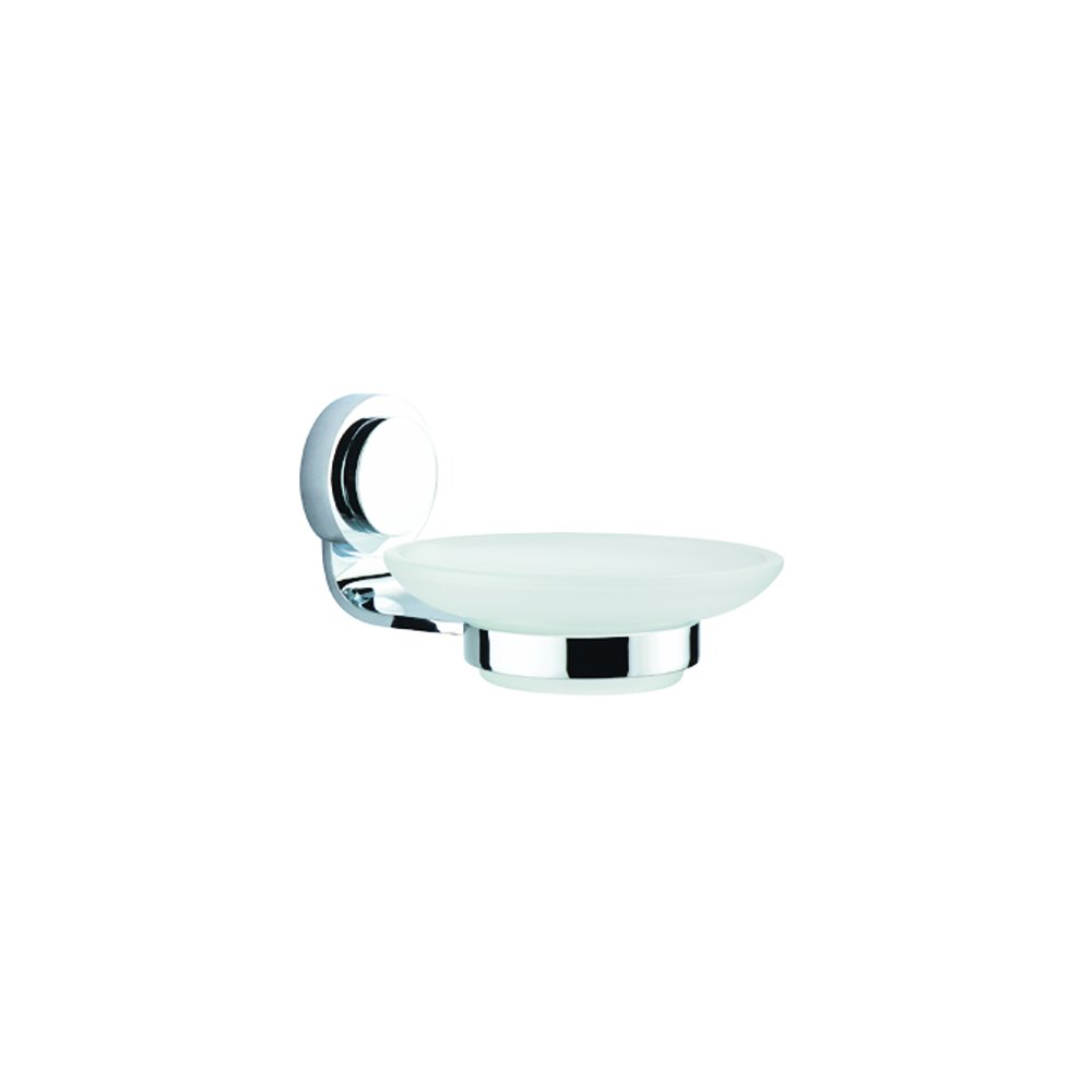 Dawn 9301.0 Glass Soap Dish with Circle Series Holder by Dawn