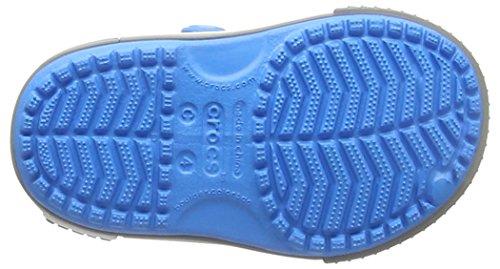 Crocs Kid's Boys and Girls Crocband II Sandal | Pre School Flat, Ocean/Smoke 8 M US Toddler by Crocs (Image #3)