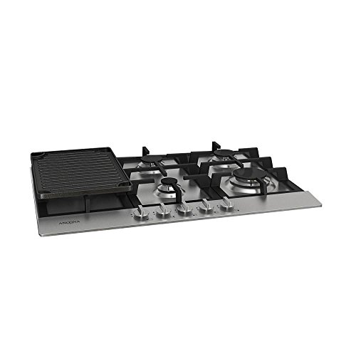 Ancona AN-21009 30″ Gas Cooktop, Stainless Steel