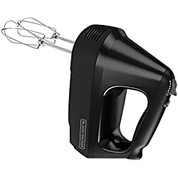 BLACK+DECKER 6-Speed Hand Mixer with 5 Attachments & Storage Case, MX3200B