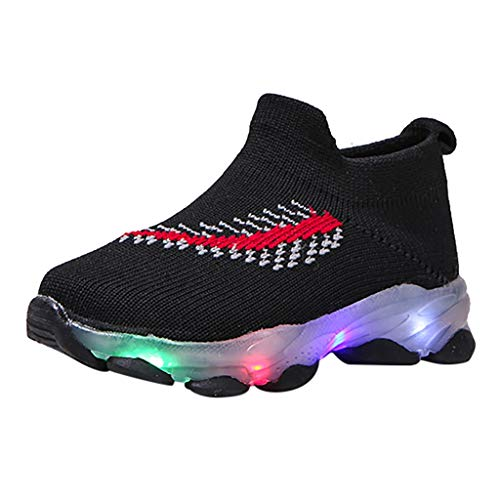 Lurryly Shoes for Girls Size 4,Sandals for Girls 3-4,Sandals for Toddler Girls Size 7,Sneakers for Girls Fashion,Toddler Boots for Girls Cowboy,Black,Recommended Age:15-18Months,US:6.5 M (Best Soccer Boots 2019 18)