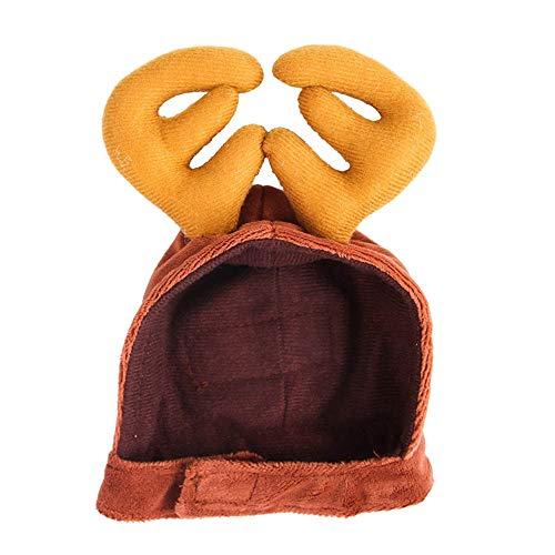 Sannysis 1PC Cute Antlers Pet Hat Cat Cosplay Headwear Pet Dress Up Costume Pet Supplies