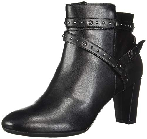 Aerosoles Women's Octave Ankle Boot, Black, 10 M US
