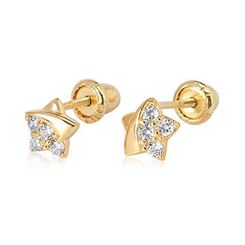 10k YG Star Earrings 2781 11800 ()