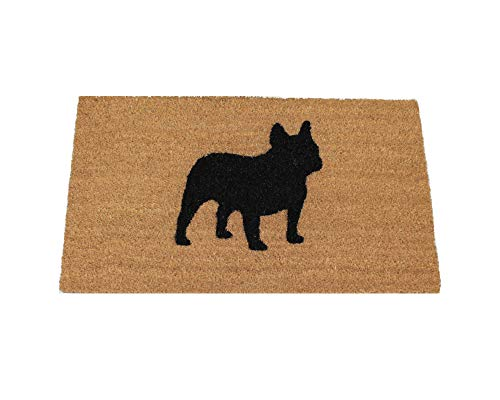UncommonDoormats French Bulldog Silhouette Doormat (18