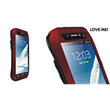 Love Mei Multifunction Upgraded Version Phone Case for Samsung Galaxy Note II (Red)