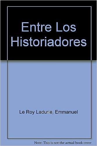 Book Entre Los Historiadores