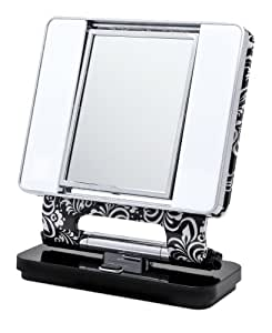 Amazon Com Ott Lite Natural Daylight Makeup Mirror Blk
