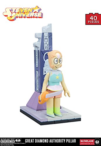 McFarlane Toys Steven Universe Great Diamond Authority Pillar Micro Construction ()