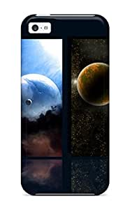 Tpu ThomasSFletcher Shockproof Scratcheproof Planets Hard Case Cover For Iphone 5c