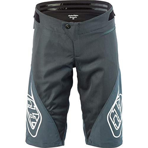 Troy Lee Designs Sprint Short - Men's Solid Charcoal, 34