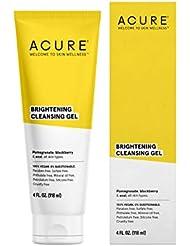 ACURE Brightening Cleansing Gel, 4 Fl. Oz. (Packaging May Vary)