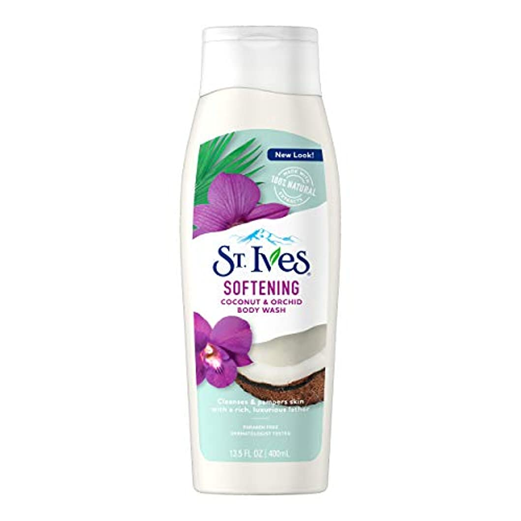緩める略語敵St. Ives Body Wash Indulgent Coconut Milk 400 ml by St. Ives