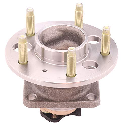 OCPTY New Wheel Hub Bearings Rear Axle 5 Lugs with ABS Compatible for Buick LeSabre Cadillac DeVille Olds Bonneville 1991-1999 OE 513062 (Hub Cadillac Deville Rear)