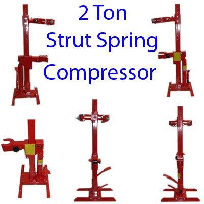 Spring Hydraulic Compressor - Heavy Duty 2 Ton Hydraulic Strut Coil Spring Compressor