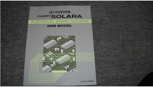2006 Toyota Camry Solara Electrical Service Manual EWD