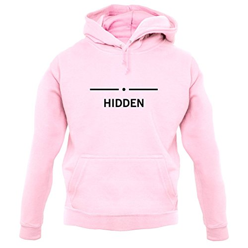 Dressdown Hidden - Unisex Hoodie-Baby Pink-Large