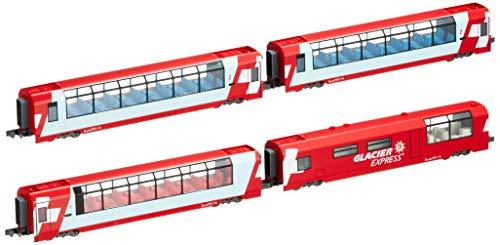 Alps Glacier Express (Add-On 4-Car Set) (Model Train) by Kato