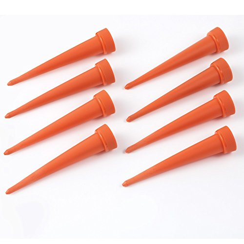 Automatic Irrigation Watering Spikes Orange