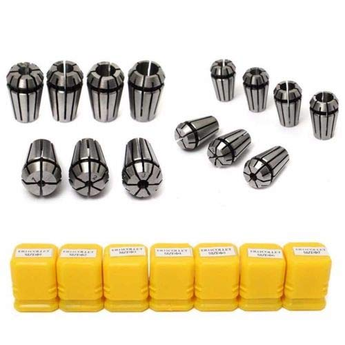 FidgetGear 7X ER11 Spring Collet Set for CNC Engraving Machine Milling Lathe Tool & Boxes_