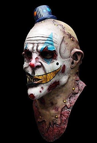 Ghoulish Productions Mime Zack Evil Clown Latex Mask Killer Klown Halloween Horror