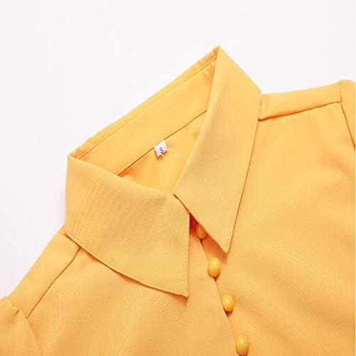 Camisa Profesional para Mujer de, para Mujer, Camisa Amarilla ...