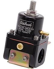 Edelbrock 174053 Fuel Pressure Regulator Bypass Style 180GPH Black
