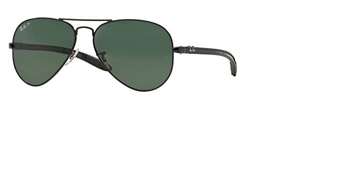 9294fea3bb3 Ray Ban RB8307 002 N5 Carbon Fibre Aviator 55mm  Amazon.ca  Clothing ...