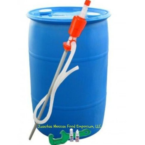 USA Premium Store Water Barrel 55 Gallon Emergency Purified Water Storage Kit by USA Premium Store