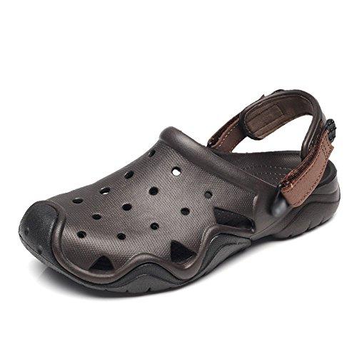 baotou Sandali WFL uomo foro da morbido fondo estate dimensioni marea 3 pantofole grandi casual antiscivolo usura scarpe 1fwvfx