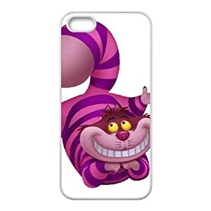 Disney Alice in Wonderland Character Cheshire Cat iPhone 4 4s Cell Phone Case White Vpzff