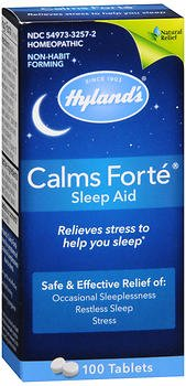 Hyland's Calms Forte Sleep Aid Tablets - 100 ct, Pack of 2