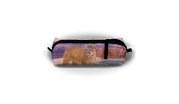 Puma - Estuche para lápices para estudiantes (con cremallera, bolsa pequeña para maquillaje, monedero, para niños, adolescentes y otros suministros escolares: Amazon.es: Oficina y papelería