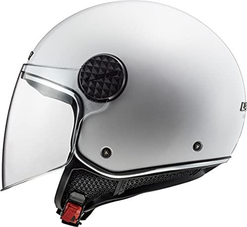 LS2 Herren Sphere LUX Motorradhelm, Weiss, XX-Large