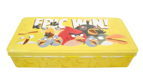 Amazon.com: Angry Birds Tin Pencil Case: Arts, Crafts & Sewing