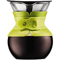 Bodum 11592-01 Pour Over Coffee Maker with Permanent Filter